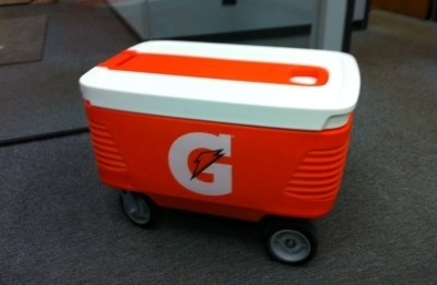 Custom Gatorade Cooler