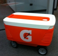 Custom Gatorade Cooler by Elkhart Plastics