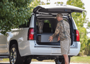 SUV Cargo Caddy secure storage for your vehicle