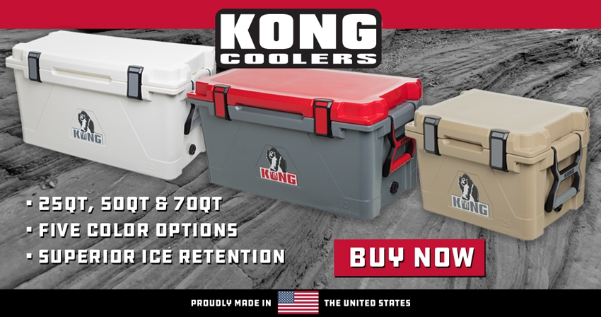 Kong Coolers | Superior Ice Retention
