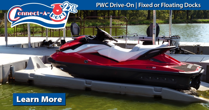 Connect-A-Port 2XL Personal Watercraft Docking