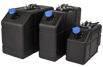 DEF tank sizes in 5, 10, and 15 gallons (landscape)