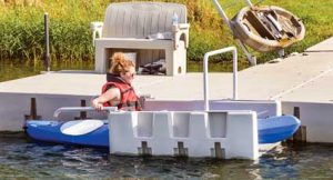 Floating Dock & Kayak Launch
